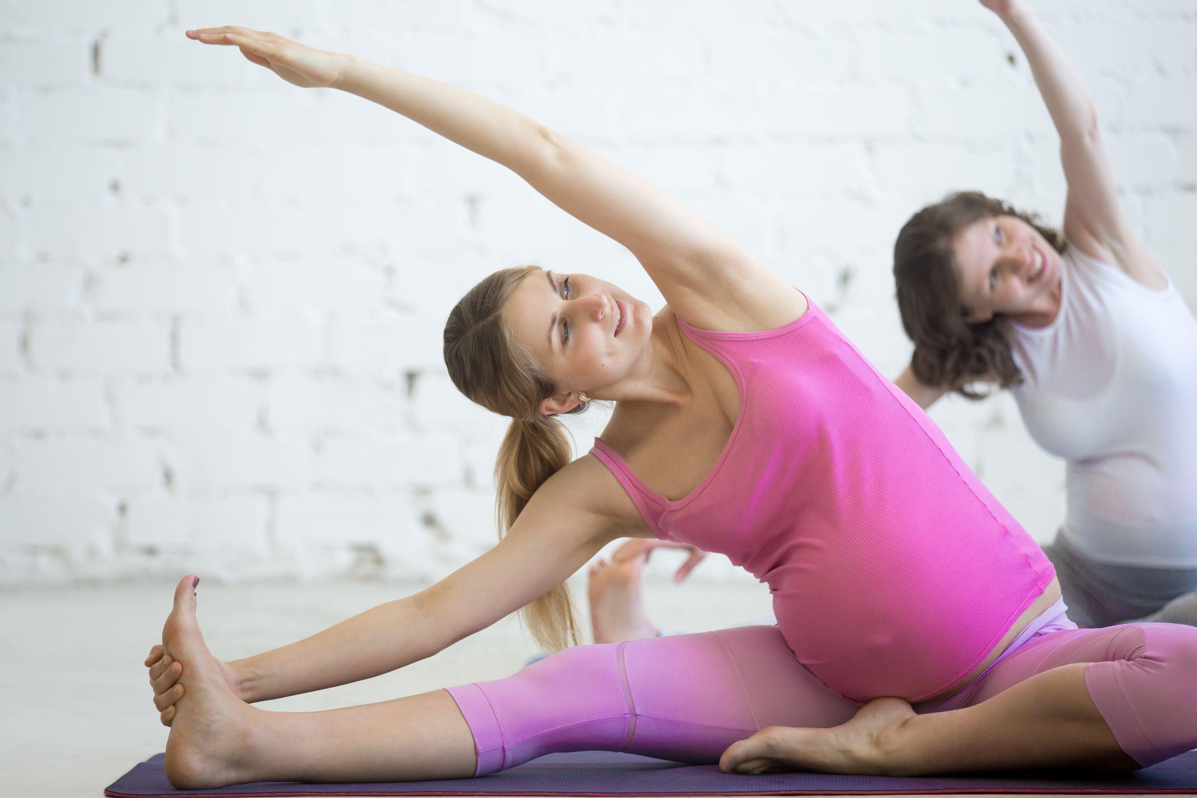 Ejercicios de preparación al parto